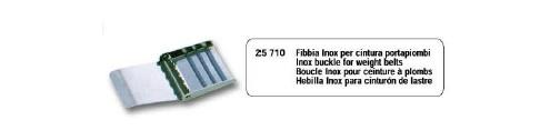 Miglior prezzo FIBBIA INOX PER CINTURA PORTA PIOMBI