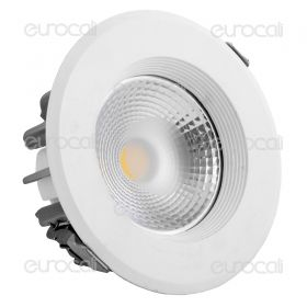 20W LED COB Downlight In 10W Body 6000K