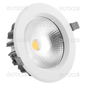30W LED COB Downlight In 20W Body 3000K