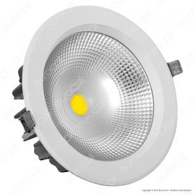 30W LED COB Downlight Round A++ 120Lm/W 4000K