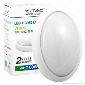 12W LED Full Oval Ceiling Lamp