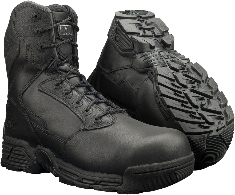 MAGNUM STEALTH FORCE 8.0 LEATHER CT/CP ANFIBI MILITARI POLIZIA CARABINIERI