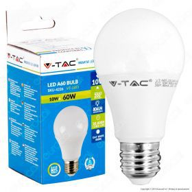 LED Bulb - 10W E27 A60 Thermoplastic 6000K