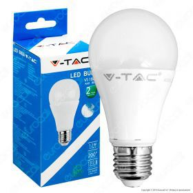 LED Bulb - 12W E27 A60 Thermoplasti