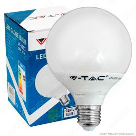 LED Bulb - 10W G95 ?27 Thermoplastic 6000K