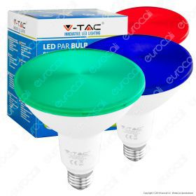 LED Bulb - 15W PAR38 E27 IP65 Red