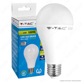 LED Bulb - 15W A65 ?27 Thermoplastic 4500K