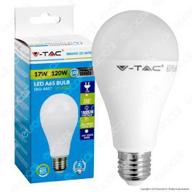 LED Bulb - 17W A65 ?27 Thermoplastic 6000K