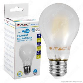 LED Bulb - 6W Filament E27 A60 Frost Cover 6400K