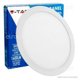 24W LED Premium Panel Downlight - Round 3000K