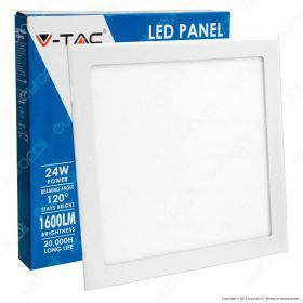 24W LED Premium Panel Downlight - Square 3000K