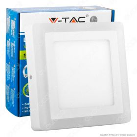 12W+3W LED Surface Panel Downlight - Square 4500K                         EMC+CR80
