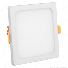 8W LED Frameless Panel Light Square 6000K