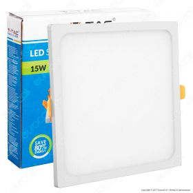 15W LED Frameless Panel Light Square 4200K