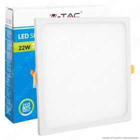 22W LED Frameless Panel Light Square 3000K