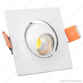 3W LED Downlight With Moving Head Square 2700K