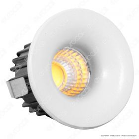 3W LED Downlight Fixed Type Round 6400K