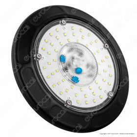 50W LED High Bay UFO  4500K 5 Year Warranty -