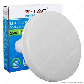 15W Dome Light Frameless Ceiling Surface Round IP44 4000K