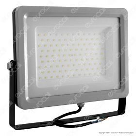 100W LED Floodlight Black/Grey Body SMD 4500K
