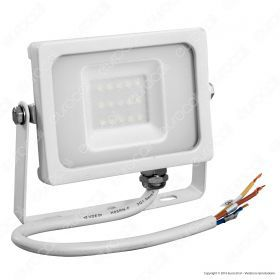 10W LED Floodlight White Body SMD 3000K