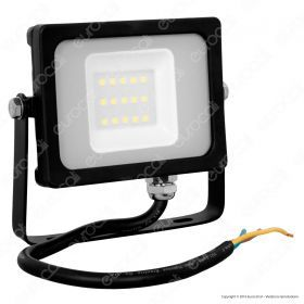 10W LED Floodlight Black Body SMD 3000K