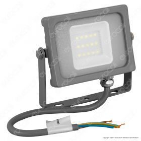 10W LED Floodlight Grey Body SMD 6400K