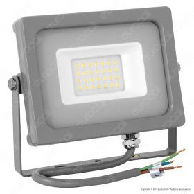 20W LED Floodlight Grey Body SMD 6400K