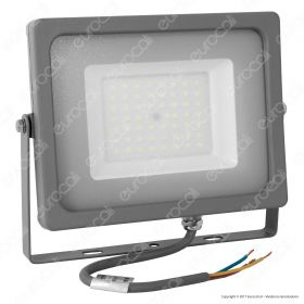 50W LED Floodlight Grey Body SMD 4000K
