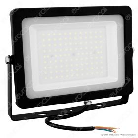 100W LED Floodlight Black Body SMD 6400K
