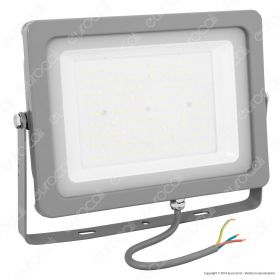 100W LED Floodlight Grey Body SMD 6400K