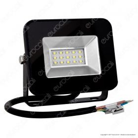 10W LED Floodlight I-Series Black Body 6000K