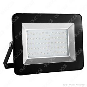 50W LED Floodlight I-Series Black Body 6000K