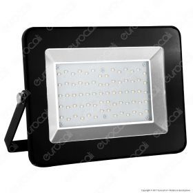 100W LED Floodlight I-Series Black Body 6000K