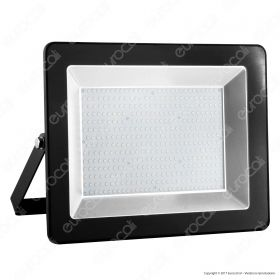 200W LED Floodlight I-Series Black Body 4500K