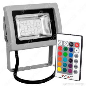 10W LED Floodlight RGB With IR Remote SMD