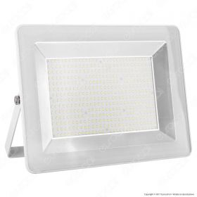 200W LED Floodlight I-Series White Body 6000K