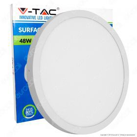 48W Surface Panel Light Round ?60cm 6400K