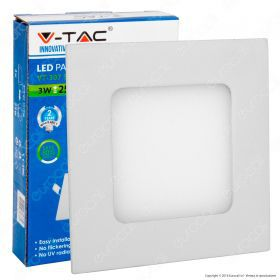 3W LED Premium Panel Downlight - Square 6000K