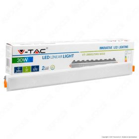 30W LED Linear Light White 6000K - NEW