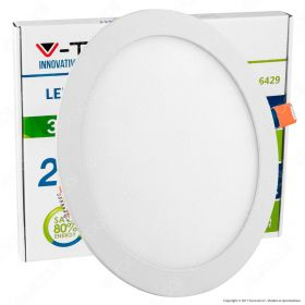 30W LED Panel Light Round 4000K