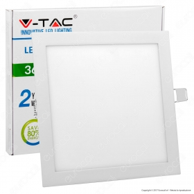 36W LED Panel Light Square 6400K