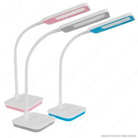 7W LED Table Lamp Dimmable 5000K Bl