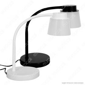 5W LED Desk Lamp  4000K White Body