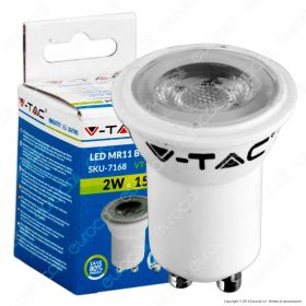 LED Spotlight - 2W GU10 ?30 Plastic 6400K