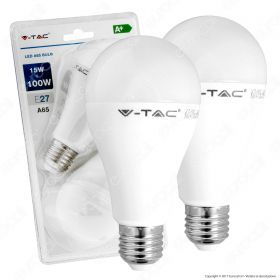 LED Bulb - 15W E27 A60 Thermoplastic 6400K 2PCS/Blister Pack