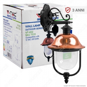 Wall Lamp E27 With Clear PC Co