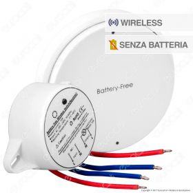Battery Free Wireless One Gang Switch Set