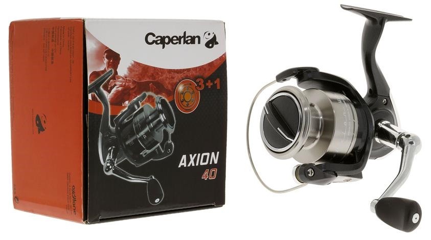 Mulinello Caperlan AXEL 40 FD 3+1 Cuscinetti - Ratio: 5.16:1