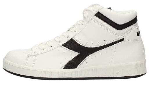 Scarpetta Diadora Game P High White-Black TG 42.5